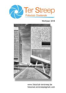 Cover van het clubboekje 2018