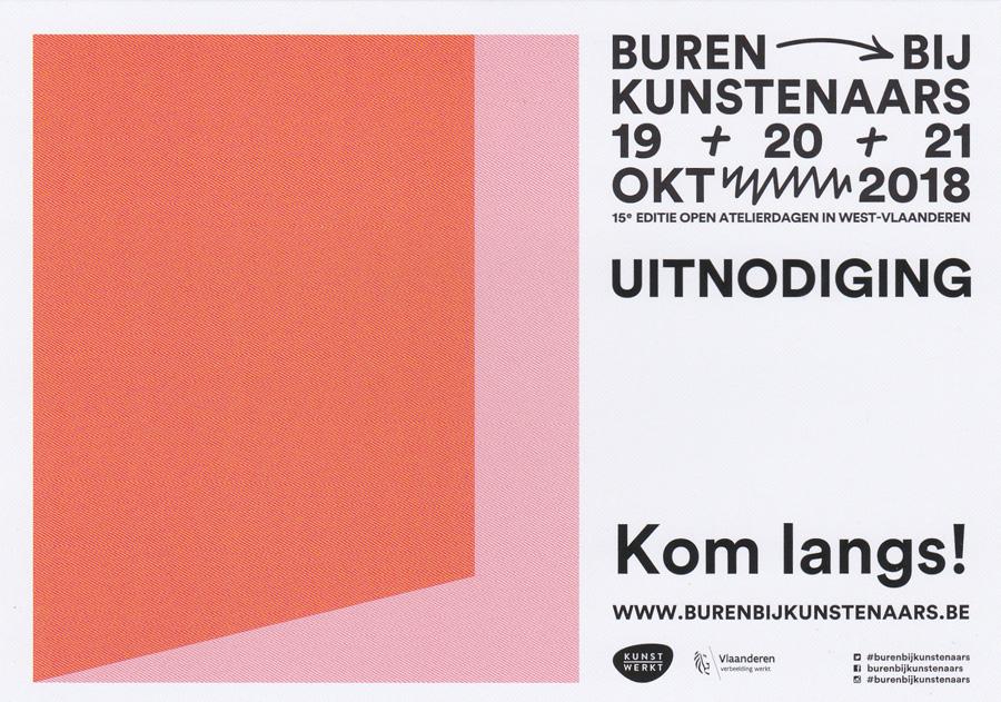 Uitnodiging Buren bij kunstenaars van fotoclub Ter Streep in het OC De Ballon mansveldstraat 9 8400 Oostende