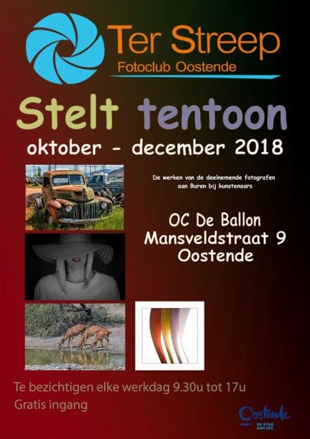 Affiche Buren bij kunstenaars in OC De Ballon