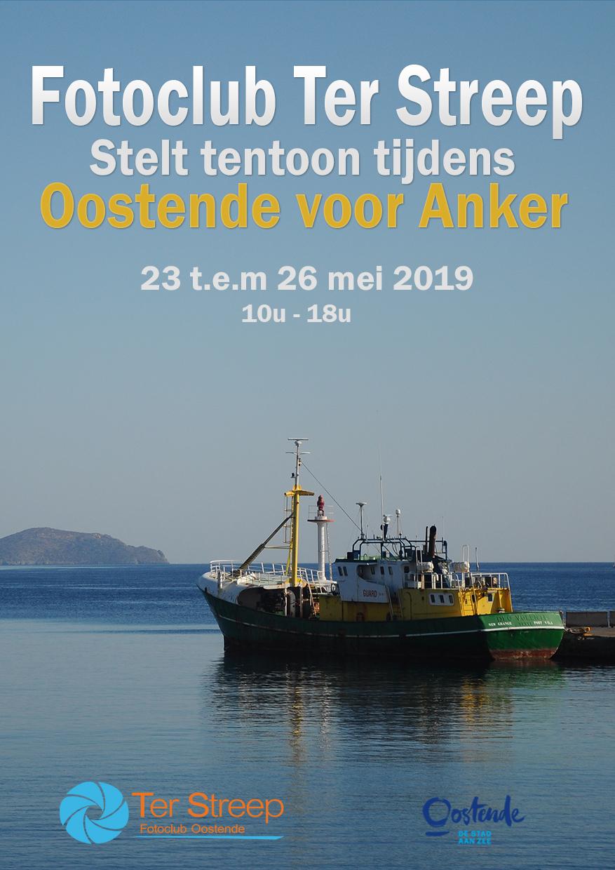 Flyer voor Oostende voor anker