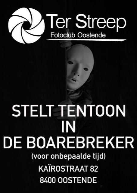 affiche tentoonstelling De Boarebreker